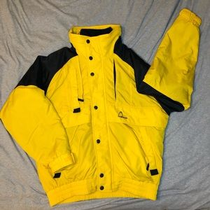 Head excellent condition 2-in-1 ski jacket with removable fleece sweater, large